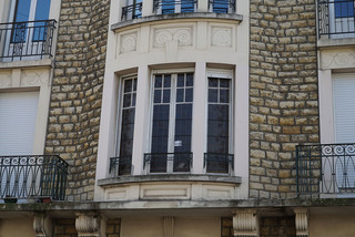 14 rue de l'Egalité - Bow-windows et balcons